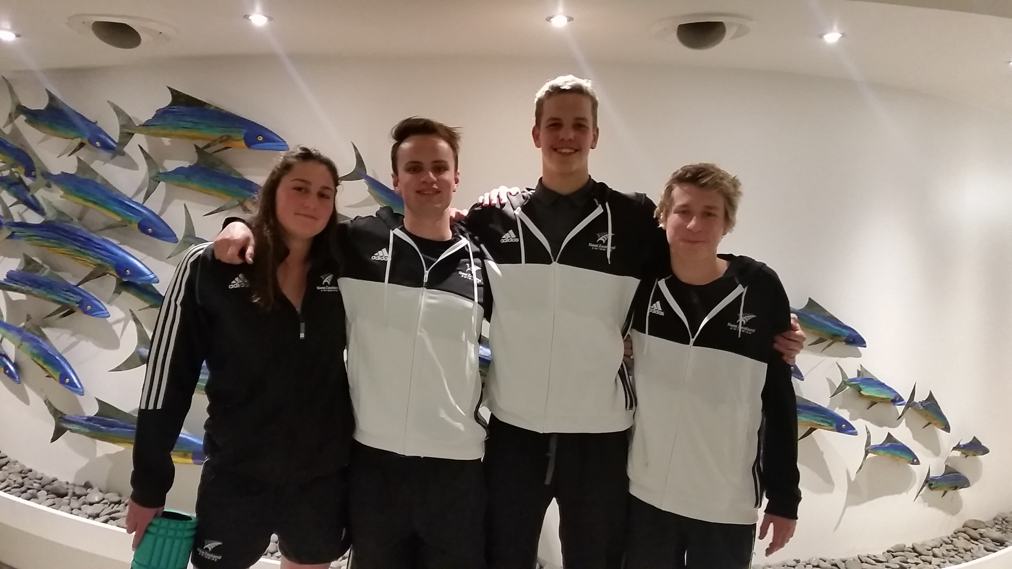 BOP Swimmers leave to compete in Australia